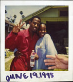 Portroids: Steve Bannos Collection - Martin Lawrence Polaroid