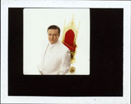 Portroids: Steve Bannos Collection - Ricky Gervais Polaroid