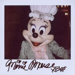Portroids: Portroid of Colonial Minnie Mouse