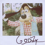 Portroids: Portroid of Camping Goofy