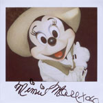 Portroids: Portroid of Safari Minnie Mouse