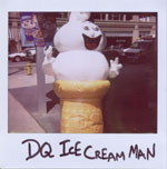Portroids: Portroid of DQ Ice Cream Man