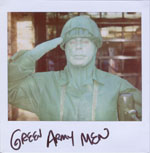 Portroids: Portroid of Green Army Men