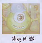 Portroids: Portroid of Mike Wazowski