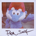 Portroids: Portroid of Papa Smurf