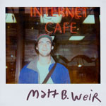 Portroids: Portroid of Matt B. Weir